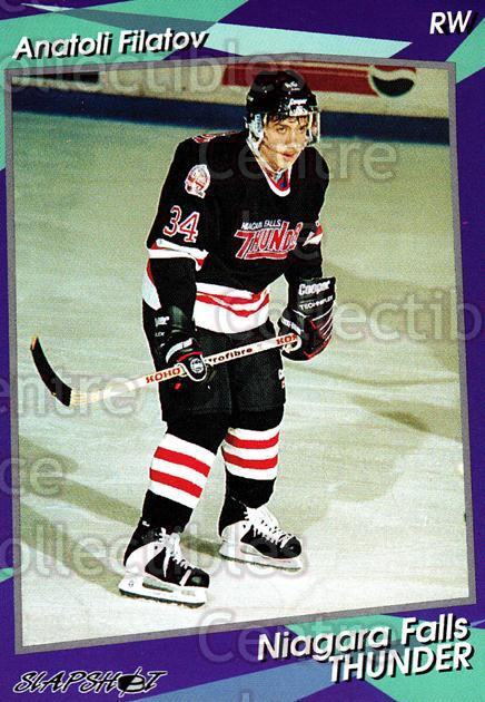 1993-94 Niagara Falls Thunder #22 Anatoli Filatov<br/>5 In Stock - $3.00 each - <a href=https://centericecollectibles.foxycart.com/cart?name=1993-94%20Niagara%20Falls%20Thunder%20%2322%20Anatoli%20Filatov...&quantity_max=5&price=$3.00&code=6407 class=foxycart> Buy it now! </a>