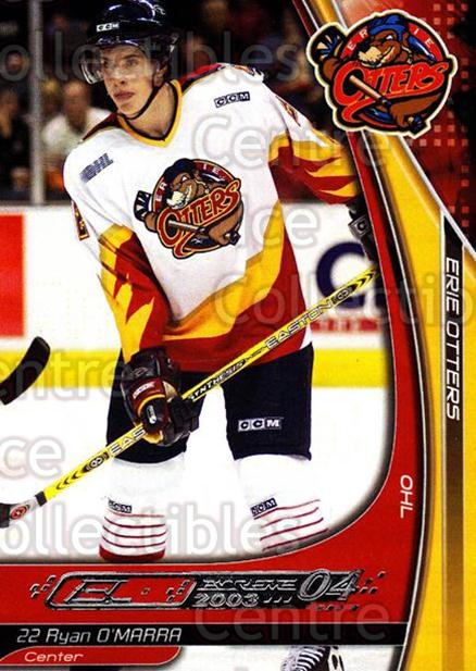 2003-04 Erie Otters #19 Ryan O'Marra<br/>2 In Stock - $3.00 each - <a href=https://centericecollectibles.foxycart.com/cart?name=2003-04%20Erie%20Otters%20%2319%20Ryan%20O'Marra...&price=$3.00&code=641031 class=foxycart> Buy it now! </a>