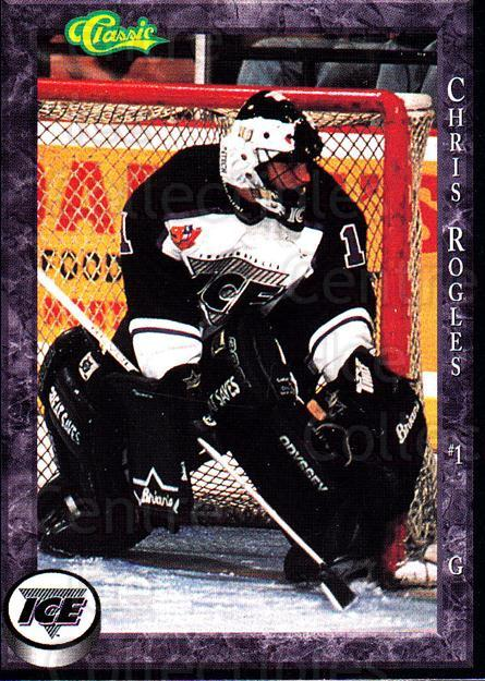 1994-95 Indianapolis Ice #20 Chris Rogles<br/>1 In Stock - $3.00 each - <a href=https://centericecollectibles.foxycart.com/cart?name=1994-95%20Indianapolis%20Ice%20%2320%20Chris%20Rogles...&quantity_max=1&price=$3.00&code=641064 class=foxycart> Buy it now! </a>