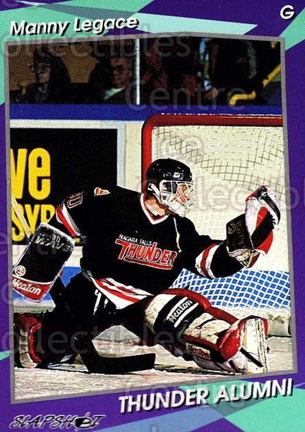 1993-94 Niagara Falls Thunder #25 Manny Legace<br/>4 In Stock - $3.00 each - <a href=https://centericecollectibles.foxycart.com/cart?name=1993-94%20Niagara%20Falls%20Thunder%20%2325%20Manny%20Legace...&quantity_max=4&price=$3.00&code=6410 class=foxycart> Buy it now! </a>