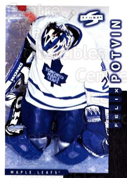 1997-98 Score #29 Felix Potvin<br/>3 In Stock - $1.00 each - <a href=https://centericecollectibles.foxycart.com/cart?name=1997-98%20Score%20%2329%20Felix%20Potvin...&quantity_max=3&price=$1.00&code=64165 class=foxycart> Buy it now! </a>