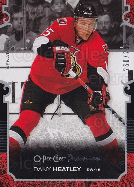 2007-08 O-pee-chee Premier #15 Dany Heatley<br/>1 In Stock - $5.00 each - <a href=https://centericecollectibles.foxycart.com/cart?name=2007-08%20O-pee-chee%20Premier%20%2315%20Dany%20Heatley...&quantity_max=1&price=$5.00&code=642188 class=foxycart> Buy it now! </a>