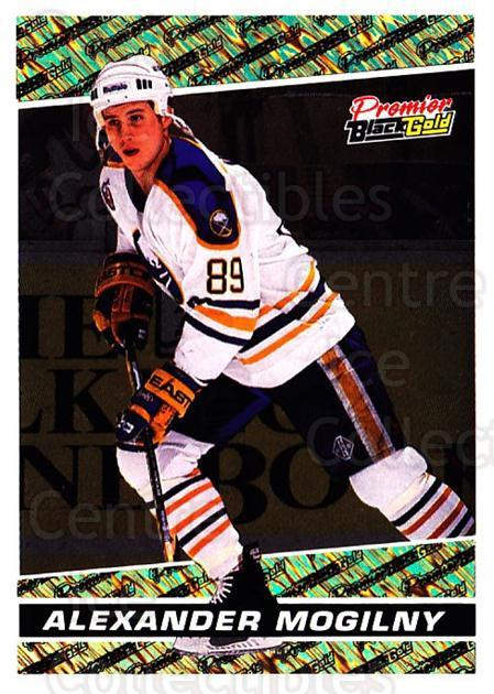 1993-94 OPC Premier Black Gold #10 Alexander Mogilny<br/>3 In Stock - $3.00 each - <a href=https://centericecollectibles.foxycart.com/cart?name=1993-94%20OPC%20Premier%20Black%20Gold%20%2310%20Alexander%20Mogil...&quantity_max=3&price=$3.00&code=6421 class=foxycart> Buy it now! </a>
