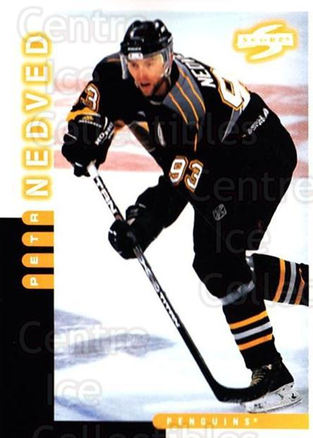 1997-98 Score #143 Petr Nedved<br/>5 In Stock - $1.00 each - <a href=https://centericecollectibles.foxycart.com/cart?name=1997-98%20Score%20%23143%20Petr%20Nedved...&quantity_max=5&price=$1.00&code=64231 class=foxycart> Buy it now! </a>