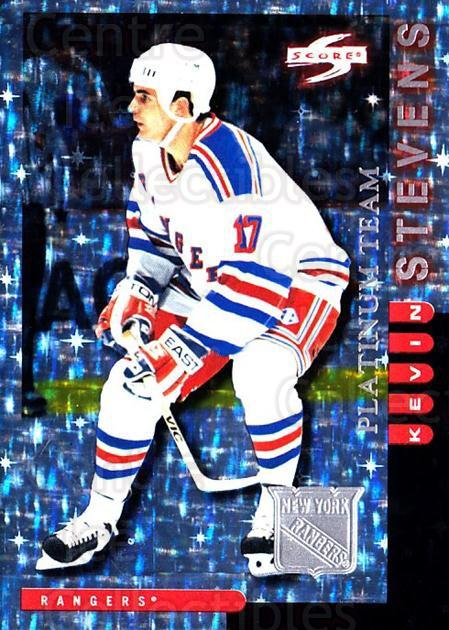 1997-98 Score New York Rangers Platinum #6 Kevin Stevens<br/>1 In Stock - $5.00 each - <a href=https://centericecollectibles.foxycart.com/cart?name=1997-98%20Score%20New%20York%20Rangers%20Platinum%20%236%20Kevin%20Stevens...&quantity_max=1&price=$5.00&code=64246 class=foxycart> Buy it now! </a>