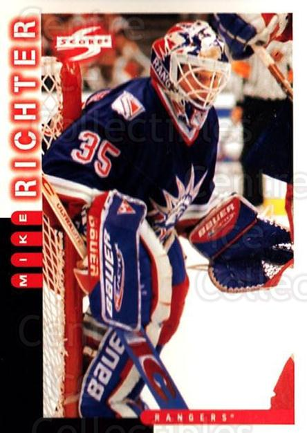 1997-98 Score #11 Mike Richter<br/>2 In Stock - $1.00 each - <a href=https://centericecollectibles.foxycart.com/cart?name=1997-98%20Score%20%2311%20Mike%20Richter...&quantity_max=2&price=$1.00&code=64250 class=foxycart> Buy it now! </a>