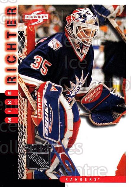 1997-98 Score New York Rangers #16 Mike Richter<br/>6 In Stock - $2.00 each - <a href=https://centericecollectibles.foxycart.com/cart?name=1997-98%20Score%20New%20York%20Rangers%20%2316%20Mike%20Richter...&quantity_max=6&price=$2.00&code=64266 class=foxycart> Buy it now! </a>