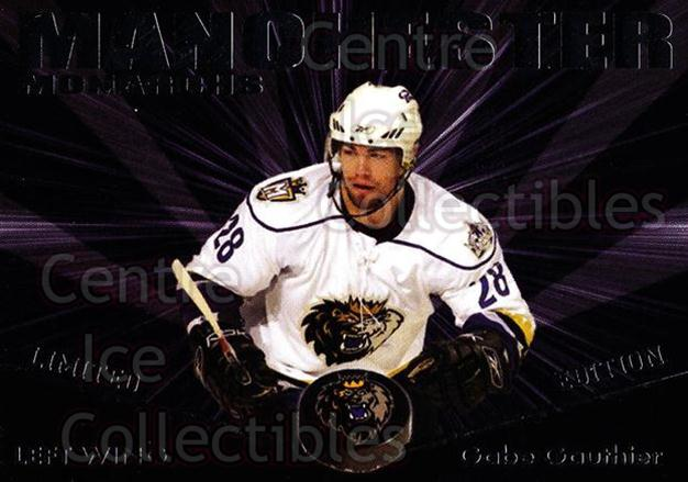 2007-08 Manchester Monarchs #SP4 Gabe Gauthier<br/>1 In Stock - $3.00 each - <a href=https://centericecollectibles.foxycart.com/cart?name=2007-08%20Manchester%20Monarchs%20%23SP4%20Gabe%20Gauthier...&quantity_max=1&price=$3.00&code=642683 class=foxycart> Buy it now! </a>