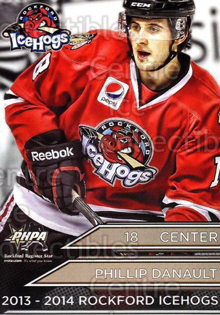 Philip Danault Hockey Card 2010-11 ITG Heroes and Prospects #38 Philip Danault