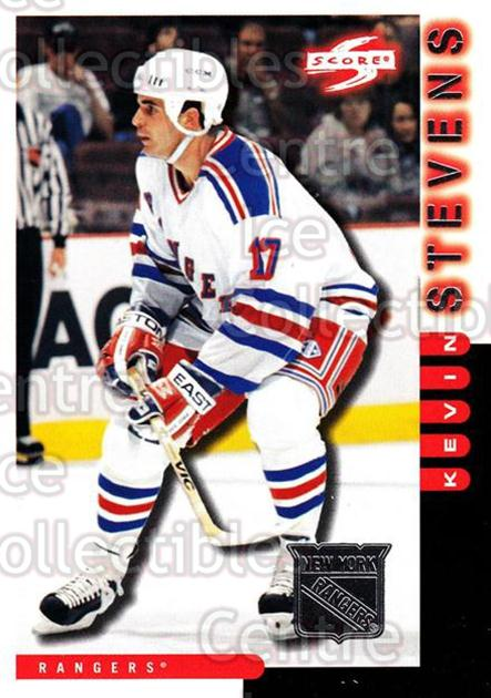 1997-98 Score New York Rangers #6 Kevin Stevens<br/>10 In Stock - $2.00 each - <a href=https://centericecollectibles.foxycart.com/cart?name=1997-98%20Score%20New%20York%20Rangers%20%236%20Kevin%20Stevens...&quantity_max=10&price=$2.00&code=64274 class=foxycart> Buy it now! </a>