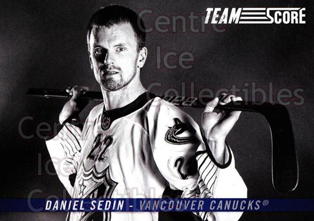 2012-13 Score Team Score #7 Daniel Sedin<br/>1 In Stock - $2.00 each - <a href=https://centericecollectibles.foxycart.com/cart?name=2012-13%20Score%20Team%20Score%20%237%20Daniel%20Sedin...&price=$2.00&code=642815 class=foxycart> Buy it now! </a>