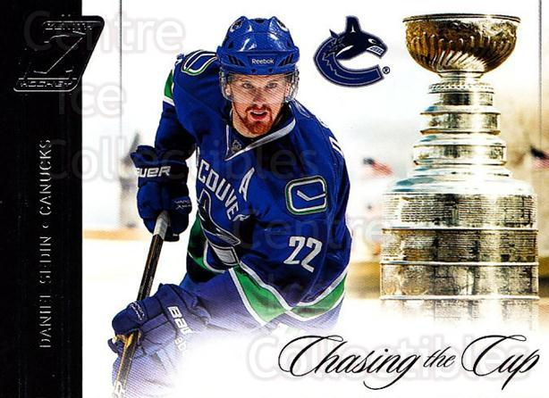 2010-11 Zenith Chasing The Cup #2 Daniel Sedin<br/>1 In Stock - $3.00 each - <a href=https://centericecollectibles.foxycart.com/cart?name=2010-11%20Zenith%20Chasing%20The%20Cup%20%232%20Daniel%20Sedin...&price=$3.00&code=642964 class=foxycart> Buy it now! </a>