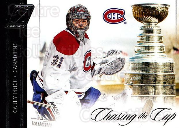 2010-11 Zenith Chasing The Cup #20 Carey Price, Stanley Cup<br/>1 In Stock - $10.00 each - <a href=https://centericecollectibles.foxycart.com/cart?name=2010-11%20Zenith%20Chasing%20The%20Cup%20%2320%20Carey%20Price,%20St...&quantity_max=1&price=$10.00&code=642982 class=foxycart> Buy it now! </a>