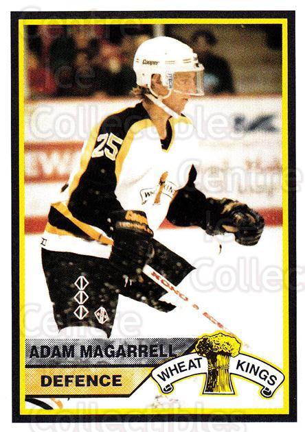 1994-95 Brandon Wheat Kings #14 Adam Magarrell<br/>2 In Stock - $3.00 each - <a href=https://centericecollectibles.foxycart.com/cart?name=1994-95%20Brandon%20Wheat%20Kings%20%2314%20Adam%20Magarrell...&quantity_max=2&price=$3.00&code=642 class=foxycart> Buy it now! </a>