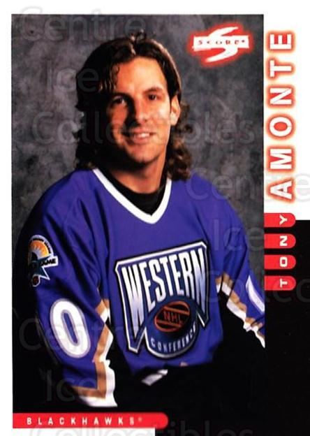 1997-98 Score #114 Tony Amonte<br/>4 In Stock - $1.00 each - <a href=https://centericecollectibles.foxycart.com/cart?name=1997-98%20Score%20%23114%20Tony%20Amonte...&quantity_max=4&price=$1.00&code=64312 class=foxycart> Buy it now! </a>