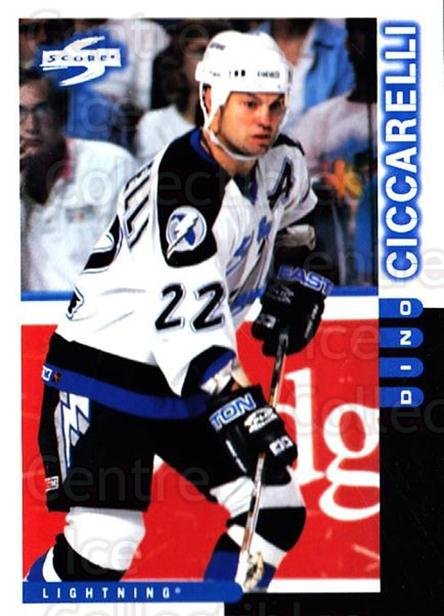 1997-98 Score #119 Dino Ciccarelli<br/>5 In Stock - $1.00 each - <a href=https://centericecollectibles.foxycart.com/cart?name=1997-98%20Score%20%23119%20Dino%20Ciccarelli...&quantity_max=5&price=$1.00&code=64315 class=foxycart> Buy it now! </a>