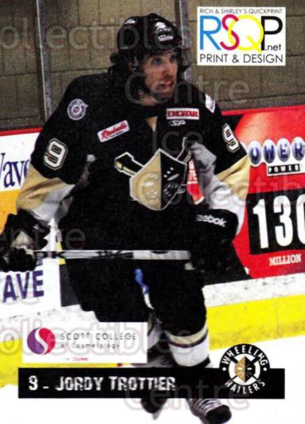 2012-13 Wheeling Nailers Giveaway #23 Jordy Trottier<br/>3 In Stock - $3.00 each - <a href=https://centericecollectibles.foxycart.com/cart?name=2012-13%20Wheeling%20Nailers%20Giveaway%20%2323%20Jordy%20Trottier...&quantity_max=3&price=$3.00&code=643218 class=foxycart> Buy it now! </a>