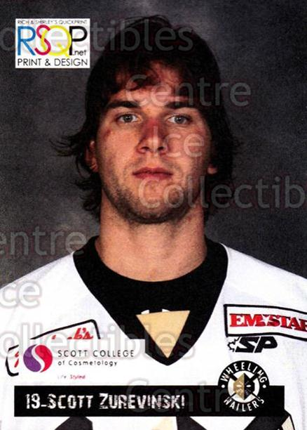 2012-13 Wheeling Nailers Giveaway #25 Scott Zurevinski<br/>2 In Stock - $3.00 each - <a href=https://centericecollectibles.foxycart.com/cart?name=2012-13%20Wheeling%20Nailers%20Giveaway%20%2325%20Scott%20Zurevinsk...&quantity_max=2&price=$3.00&code=643220 class=foxycart> Buy it now! </a>