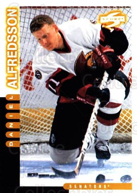1997-98 Score #131 Daniel Alfredsson<br/>5 In Stock - $1.00 each - <a href=https://centericecollectibles.foxycart.com/cart?name=1997-98%20Score%20%23131%20Daniel%20Alfredss...&quantity_max=5&price=$1.00&code=64322 class=foxycart> Buy it now! </a>