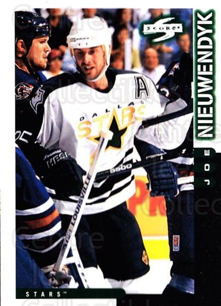 1997-98 Score #135 Joe Nieuwendyk<br/>3 In Stock - $1.00 each - <a href=https://centericecollectibles.foxycart.com/cart?name=1997-98%20Score%20%23135%20Joe%20Nieuwendyk...&quantity_max=3&price=$1.00&code=64324 class=foxycart> Buy it now! </a>