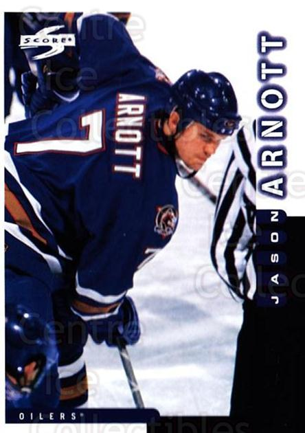 1997-98 Score #136 Jason Arnott<br/>4 In Stock - $1.00 each - <a href=https://centericecollectibles.foxycart.com/cart?name=1997-98%20Score%20%23136%20Jason%20Arnott...&quantity_max=4&price=$1.00&code=64325 class=foxycart> Buy it now! </a>