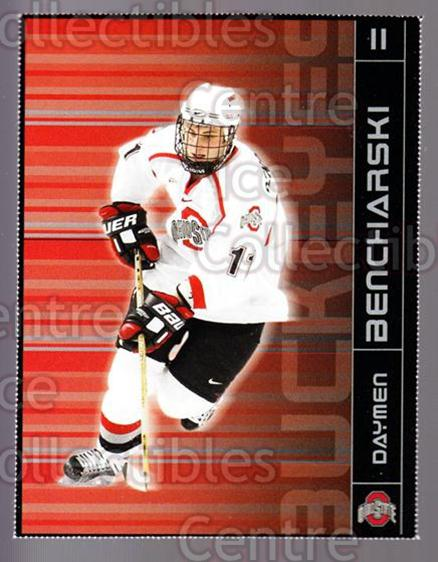 2003-04 Ohio State Buckeyes #2 Daymen Bencharski<br/>1 In Stock - $3.00 each - <a href=https://centericecollectibles.foxycart.com/cart?name=2003-04%20Ohio%20State%20Buckeyes%20%232%20Daymen%20Benchars...&quantity_max=1&price=$3.00&code=643274 class=foxycart> Buy it now! </a>