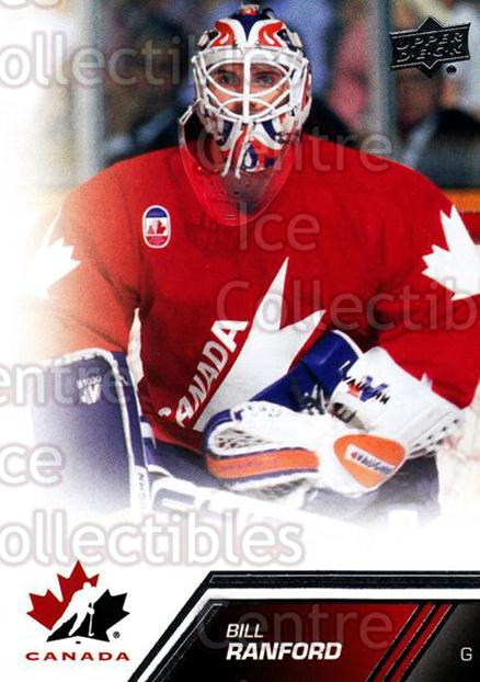 2013-14 Upper Deck Team Canada #8 Bill Ranford<br/>5 In Stock - $1.00 each - <a href=https://centericecollectibles.foxycart.com/cart?name=2013-14%20Upper%20Deck%20Team%20Canada%20%238%20Bill%20Ranford...&quantity_max=5&price=$1.00&code=643393 class=foxycart> Buy it now! </a>