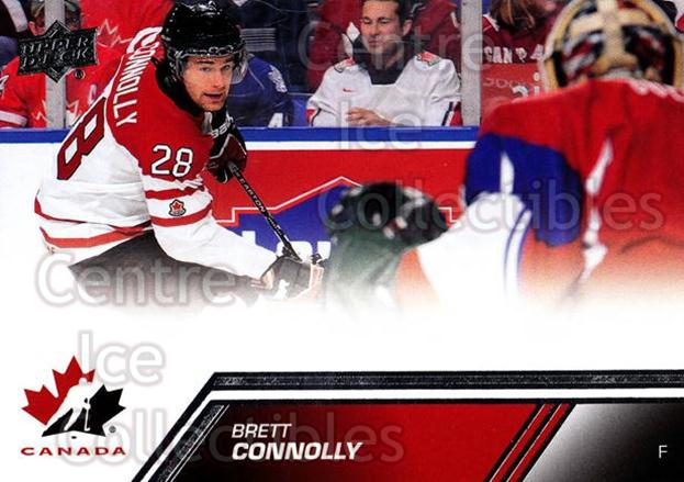 2013-14 Upper Deck Team Canada #21 Brett Connolly<br/>6 In Stock - $1.00 each - <a href=https://centericecollectibles.foxycart.com/cart?name=2013-14%20Upper%20Deck%20Team%20Canada%20%2321%20Brett%20Connolly...&quantity_max=6&price=$1.00&code=643406 class=foxycart> Buy it now! </a>