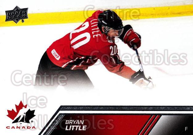 2013-14 Upper Deck Team Canada #22 Bryan Little<br/>7 In Stock - $1.00 each - <a href=https://centericecollectibles.foxycart.com/cart?name=2013-14%20Upper%20Deck%20Team%20Canada%20%2322%20Bryan%20Little...&quantity_max=7&price=$1.00&code=643407 class=foxycart> Buy it now! </a>