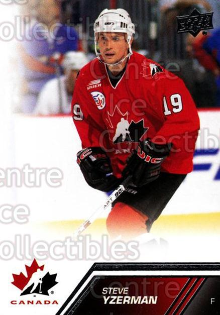 2013-14 Upper Deck Team Canada #24 Steve Yzerman<br/>6 In Stock - $3.00 each - <a href=https://centericecollectibles.foxycart.com/cart?name=2013-14%20Upper%20Deck%20Team%20Canada%20%2324%20Steve%20Yzerman...&quantity_max=6&price=$3.00&code=643409 class=foxycart> Buy it now! </a>