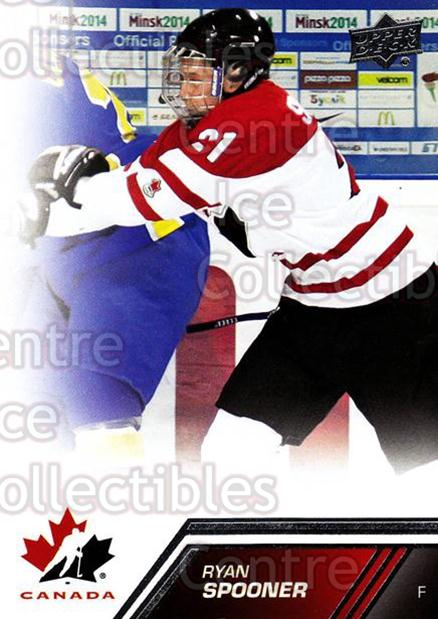 2013-14 Upper Deck Team Canada #29 Ryan Spooner<br/>6 In Stock - $1.00 each - <a href=https://centericecollectibles.foxycart.com/cart?name=2013-14%20Upper%20Deck%20Team%20Canada%20%2329%20Ryan%20Spooner...&quantity_max=6&price=$1.00&code=643414 class=foxycart> Buy it now! </a>