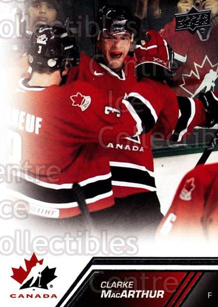 2013-14 Upper Deck Team Canada #30 Clarke MacArthur<br/>7 In Stock - $1.00 each - <a href=https://centericecollectibles.foxycart.com/cart?name=2013-14%20Upper%20Deck%20Team%20Canada%20%2330%20Clarke%20MacArthu...&quantity_max=7&price=$1.00&code=643415 class=foxycart> Buy it now! </a>