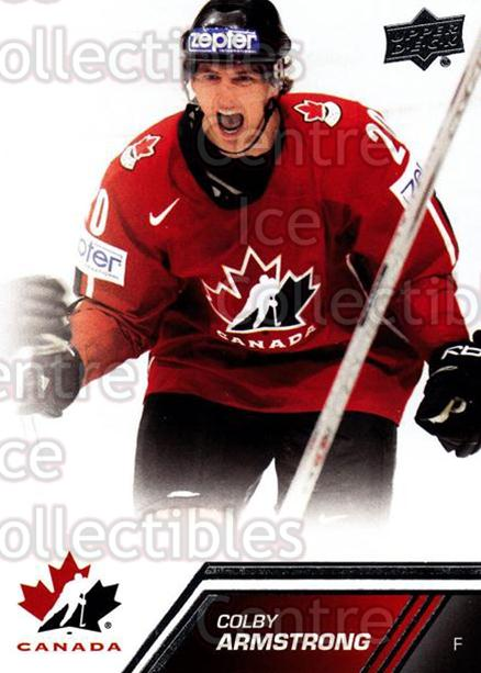 2013-14 Upper Deck Team Canada #33 Colby Armstrong<br/>7 In Stock - $1.00 each - <a href=https://centericecollectibles.foxycart.com/cart?name=2013-14%20Upper%20Deck%20Team%20Canada%20%2333%20Colby%20Armstrong...&quantity_max=7&price=$1.00&code=643418 class=foxycart> Buy it now! </a>