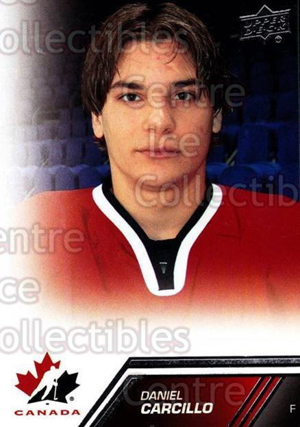 2013-14 Upper Deck Team Canada #36 Daniel Carcillo<br/>7 In Stock - $1.00 each - <a href=https://centericecollectibles.foxycart.com/cart?name=2013-14%20Upper%20Deck%20Team%20Canada%20%2336%20Daniel%20Carcillo...&quantity_max=7&price=$1.00&code=643421 class=foxycart> Buy it now! </a>
