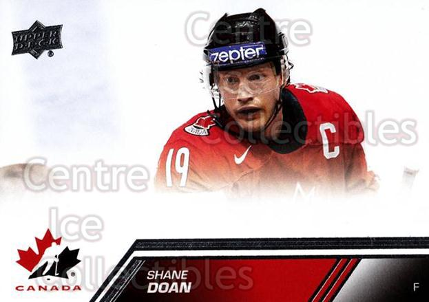 2013-14 Upper Deck Team Canada #41 Shane Doan<br/>7 In Stock - $1.00 each - <a href=https://centericecollectibles.foxycart.com/cart?name=2013-14%20Upper%20Deck%20Team%20Canada%20%2341%20Shane%20Doan...&quantity_max=7&price=$1.00&code=643426 class=foxycart> Buy it now! </a>