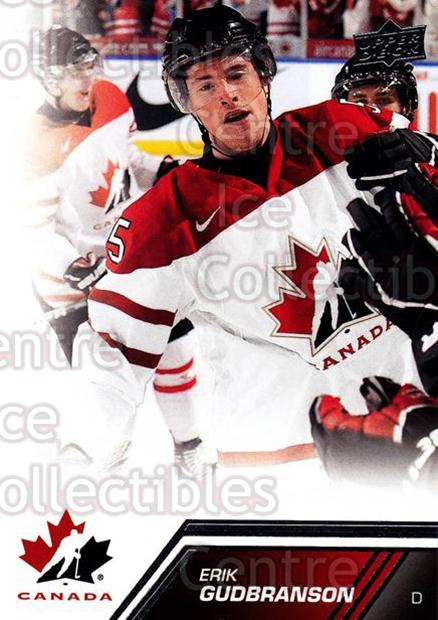 2013-14 Upper Deck Team Canada #42 Erik Gudbranson<br/>5 In Stock - $1.00 each - <a href=https://centericecollectibles.foxycart.com/cart?name=2013-14%20Upper%20Deck%20Team%20Canada%20%2342%20Erik%20Gudbranson...&quantity_max=5&price=$1.00&code=643427 class=foxycart> Buy it now! </a>