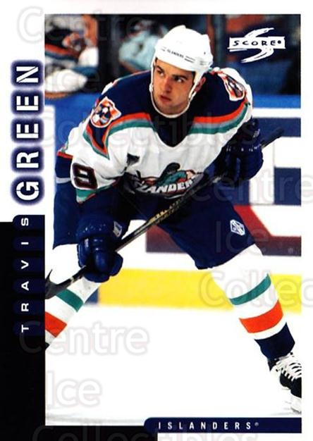 1997-98 Score #173 Travis Green<br/>4 In Stock - $1.00 each - <a href=https://centericecollectibles.foxycart.com/cart?name=1997-98%20Score%20%23173%20Travis%20Green...&quantity_max=4&price=$1.00&code=64342 class=foxycart> Buy it now! </a>