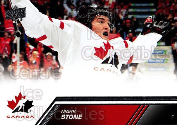 2013-14 Upper Deck Team Canada #66 Mark Stone<br/>7 In Stock - $1.00 each - <a href=https://centericecollectibles.foxycart.com/cart?name=2013-14%20Upper%20Deck%20Team%20Canada%20%2366%20Mark%20Stone...&quantity_max=7&price=$1.00&code=643451 class=foxycart> Buy it now! </a>