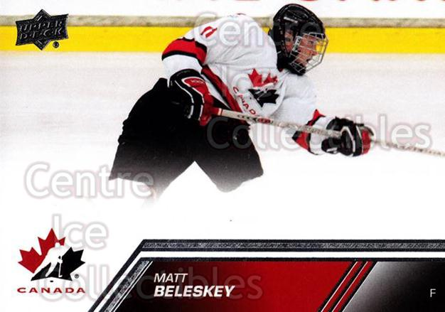 2013-14 Upper Deck Team Canada #67 Matt Beleskey<br/>6 In Stock - $1.00 each - <a href=https://centericecollectibles.foxycart.com/cart?name=2013-14%20Upper%20Deck%20Team%20Canada%20%2367%20Matt%20Beleskey...&quantity_max=6&price=$1.00&code=643452 class=foxycart> Buy it now! </a>