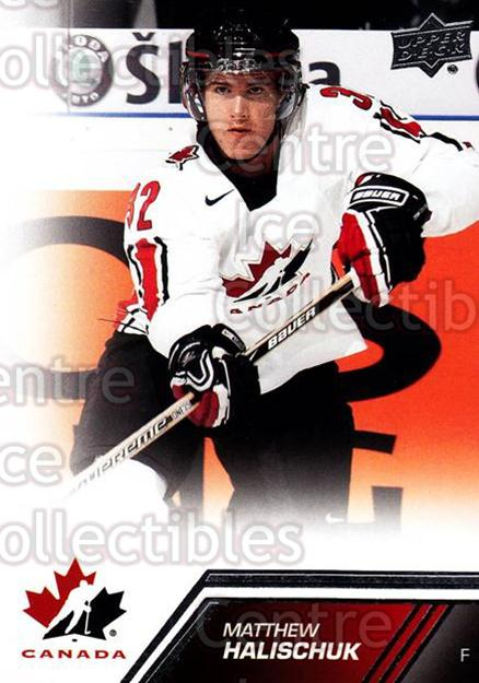 2013-14 Upper Deck Team Canada #68 Matthew Halischuk<br/>4 In Stock - $1.00 each - <a href=https://centericecollectibles.foxycart.com/cart?name=2013-14%20Upper%20Deck%20Team%20Canada%20%2368%20Matthew%20Halisch...&quantity_max=4&price=$1.00&code=643453 class=foxycart> Buy it now! </a>