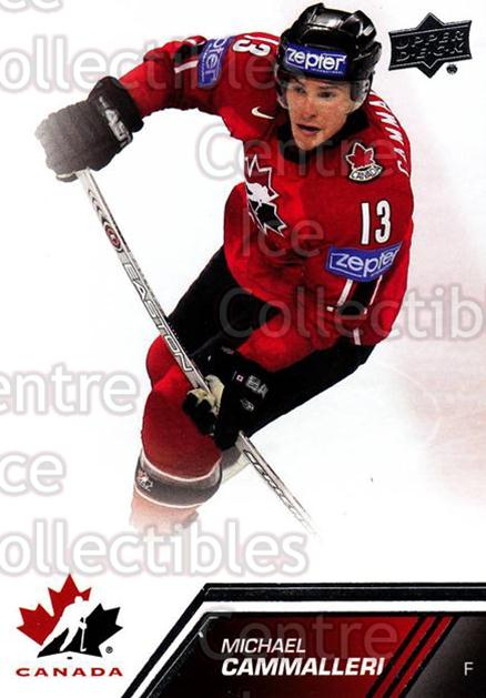 2013-14 Upper Deck Team Canada #69 Michael Cammalleri<br/>7 In Stock - $1.00 each - <a href=https://centericecollectibles.foxycart.com/cart?name=2013-14%20Upper%20Deck%20Team%20Canada%20%2369%20Michael%20Cammall...&quantity_max=7&price=$1.00&code=643454 class=foxycart> Buy it now! </a>