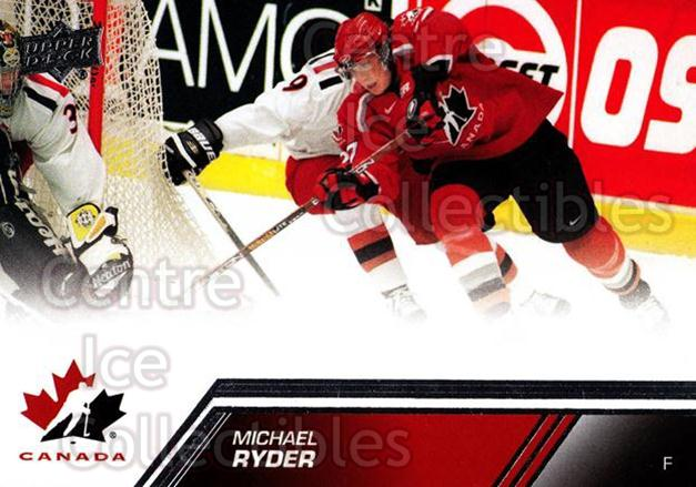 2013-14 Upper Deck Team Canada #71 Michael Ryder<br/>7 In Stock - $1.00 each - <a href=https://centericecollectibles.foxycart.com/cart?name=2013-14%20Upper%20Deck%20Team%20Canada%20%2371%20Michael%20Ryder...&quantity_max=7&price=$1.00&code=643456 class=foxycart> Buy it now! </a>
