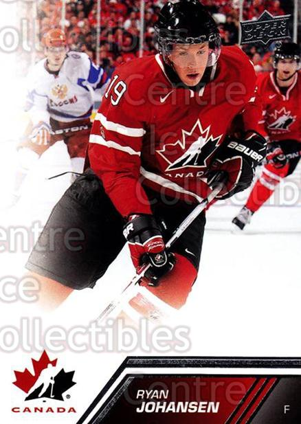 2013-14 Upper Deck Team Canada #77 Ryan Johansen<br/>7 In Stock - $1.00 each - <a href=https://centericecollectibles.foxycart.com/cart?name=2013-14%20Upper%20Deck%20Team%20Canada%20%2377%20Ryan%20Johansen...&quantity_max=7&price=$1.00&code=643462 class=foxycart> Buy it now! </a>