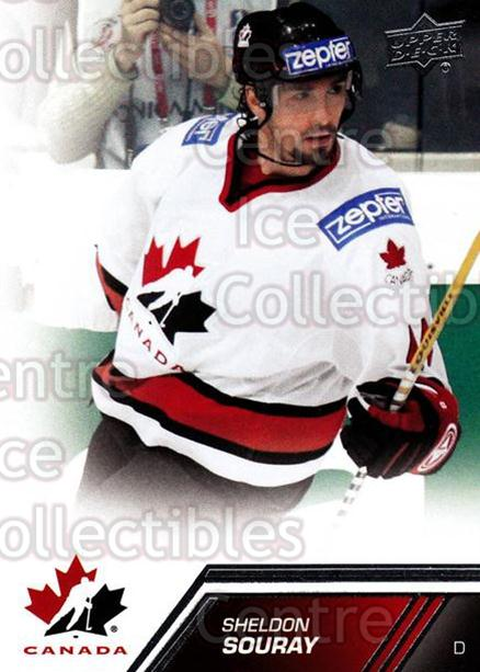 2013-14 Upper Deck Team Canada #82 Sheldon Souray<br/>7 In Stock - $1.00 each - <a href=https://centericecollectibles.foxycart.com/cart?name=2013-14%20Upper%20Deck%20Team%20Canada%20%2382%20Sheldon%20Souray...&quantity_max=7&price=$1.00&code=643467 class=foxycart> Buy it now! </a>