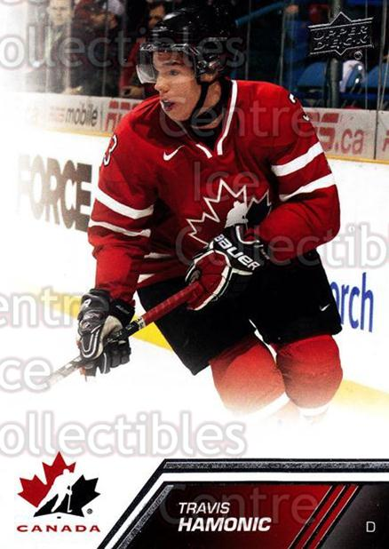 2013-14 Upper Deck Team Canada #92 Travis Hamonic<br/>7 In Stock - $1.00 each - <a href=https://centericecollectibles.foxycart.com/cart?name=2013-14%20Upper%20Deck%20Team%20Canada%20%2392%20Travis%20Hamonic...&quantity_max=7&price=$1.00&code=643477 class=foxycart> Buy it now! </a>