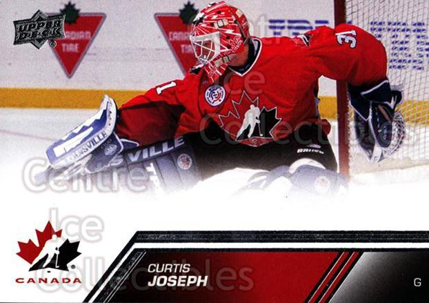 2013-14 Upper Deck Team Canada #111 Curtis Joseph<br/>2 In Stock - $3.00 each - <a href=https://centericecollectibles.foxycart.com/cart?name=2013-14%20Upper%20Deck%20Team%20Canada%20%23111%20Curtis%20Joseph...&quantity_max=2&price=$3.00&code=643496 class=foxycart> Buy it now! </a>