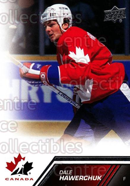 2013-14 Upper Deck Team Canada #112 Dale Hawerchuk<br/>5 In Stock - $2.00 each - <a href=https://centericecollectibles.foxycart.com/cart?name=2013-14%20Upper%20Deck%20Team%20Canada%20%23112%20Dale%20Hawerchuk...&quantity_max=5&price=$2.00&code=643497 class=foxycart> Buy it now! </a>