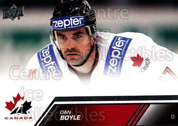 2013-14 Upper Deck Team Canada #113 Dan Boyle<br/>6 In Stock - $2.00 each - <a href=https://centericecollectibles.foxycart.com/cart?name=2013-14%20Upper%20Deck%20Team%20Canada%20%23113%20Dan%20Boyle...&quantity_max=6&price=$2.00&code=643498 class=foxycart> Buy it now! </a>