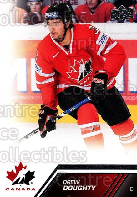 2013-14 Upper Deck Team Canada #118 Drew Doughty<br/>5 In Stock - $2.00 each - <a href=https://centericecollectibles.foxycart.com/cart?name=2013-14%20Upper%20Deck%20Team%20Canada%20%23118%20Drew%20Doughty...&quantity_max=5&price=$2.00&code=643503 class=foxycart> Buy it now! </a>