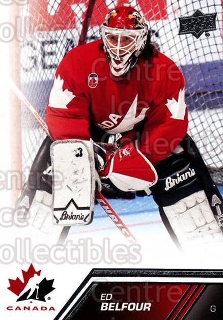 2013-14 Upper Deck Team Canada #119 Ed Belfour<br/>2 In Stock - $3.00 each - <a href=https://centericecollectibles.foxycart.com/cart?name=2013-14%20Upper%20Deck%20Team%20Canada%20%23119%20Ed%20Belfour...&quantity_max=2&price=$3.00&code=643504 class=foxycart> Buy it now! </a>